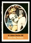 1972 Sunoco Stamps  Alden Roche  Front Thumbnail