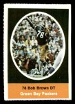 1972 Sunoco Stamps  Bob Brown  Front Thumbnail