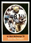 1972 Sunoco Stamps  Rich McGeorge  Front Thumbnail