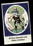 1972 Sunoco Stamps  Dave Edwards  Front Thumbnail