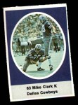 1972 Sunoco Stamps  Mike Clark  Front Thumbnail