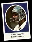 1972 Sunoco Stamps  Billy Truax  Front Thumbnail