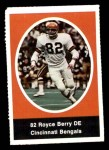 1972 Sunoco Stamps  Royce Berry  Front Thumbnail