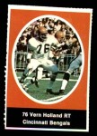 1972 Sunoco Stamps  Vern Holland  Front Thumbnail