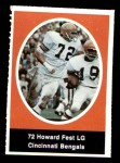 1972 Sunoco Stamps  Howard Fest  Front Thumbnail