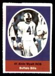 1972 Sunoco Stamps  Alvin Wyatt  Front Thumbnail