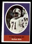 1972 Sunoco Stamps  Bob Tatarek  Front Thumbnail