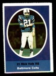 1972 Sunoco Stamps  Rick Volk  Front Thumbnail