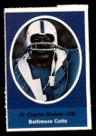 1972 Sunoco Stamps  Charlie Stukes  Front Thumbnail