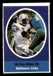 1972 Sunoco Stamps  Roy Hilton  Front Thumbnail