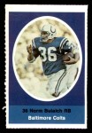 1972 Sunoco Stamps  Norm Bulaich  Front Thumbnail