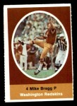 1972 Sunoco Stamps  Mike Bragg  Front Thumbnail