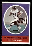 1972 Sunoco Stamps  Tucker Frederickson  Front Thumbnail