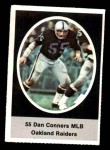 1972 Sunoco Stamps  Dan Conners  Front Thumbnail