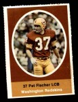 1972 Sunoco Stamps  Pat Fischer  Front Thumbnail