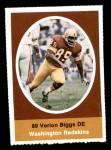 1972 Sunoco Stamps  Verlon Biggs  Front Thumbnail