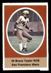 1972 Sunoco Stamps  Bruce Taylor  Front Thumbnail