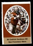 1972 Sunoco Stamps  Cedrick Hardman  Front Thumbnail