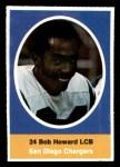 1972 Sunoco Stamps  Bob Howard  Front Thumbnail