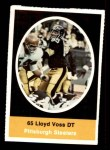 1972 Sunoco Stamps  Lloyd Voss  Front Thumbnail