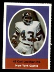 1972 Sunoco Stamps  Spider Lockhart  Front Thumbnail