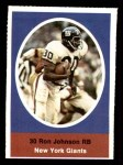 1972 Sunoco Stamps  Ron Johnson  Front Thumbnail
