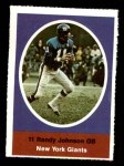 1972 Sunoco Stamps  Randy Johnson  Front Thumbnail