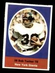 1972 Sunoco Stamps  Bob Tucker  Front Thumbnail