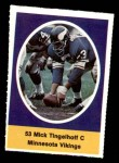 1972 Sunoco Stamps  Mick Tingelhoff  Front Thumbnail