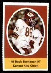 1972 Sunoco Stamps  Buck Buchanan  Front Thumbnail