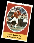 1972 Sunoco Stamps  Jan Stenerud  Front Thumbnail