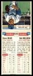 1955 Topps DoubleHeader #117 / 118 -  Steve Bilko / Bob Millikin  Back Thumbnail