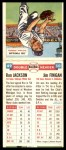 1955 Topps DoubleHeader #49 #50 Ron Jackson / Jim Finigan  Back Thumbnail