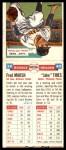 1955 Topps DoubleHeader #39 / 40 -  Freddie Marsh / Vernon Thies  Back Thumbnail