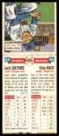 1955 Topps DoubleHeader #23 #24 Jack Shepard / Stan Hack   Back Thumbnail