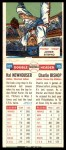 1955 Topps DoubleHeader #109 / 110 -  Hal Newhouser / Chuck Bishop  Back Thumbnail
