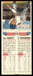 1955 Topps DoubleHeader #11 #12 Curt Roberts / Arnie Portocarrero  Back Thumbnail