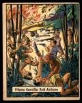 1941 Gum Inc. War Gum #38   Filipino Guerrillas Raid Airdrome Front Thumbnail