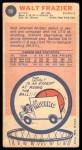 1969 Topps #98  Walt Frazier  Back Thumbnail