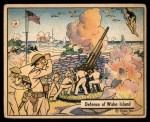 1941 Gum Inc. War Gum #10   Defense Of Wake Island Front Thumbnail