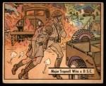 1941 Gum Inc. War Gum #35   Major Trapnell Wins a D.S.C. Front Thumbnail