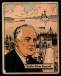 1941 Gum Inc. War Gum #1   Franklin Delano Roosevelt Front Thumbnail