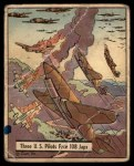 1941 Gum Inc. War Gum #29   Three U.S. Pilots Face 108 Japanese Front Thumbnail