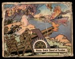 1941 Gum Inc. War Gum #31   Heroic Dutch Stand At Tarakan Front Thumbnail