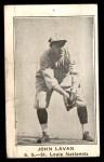1922 E121-120 American Caramel  John Lavan  Front Thumbnail