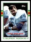 1989 Topps #361  Chris Spielman  Front Thumbnail