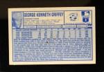 1976 Kellogg's #44  Ken Griffey  Back Thumbnail