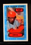 1975 Kellogg's #14  Jorge Orta  Front Thumbnail