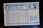 1975 Kellogg's #18  Brooks Robinson  Back Thumbnail