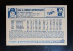 1975 Kellogg's #30  Andy Messersmith  Back Thumbnail